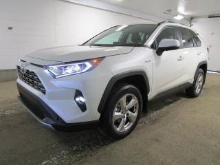 New 2021 Toyota RAV4 Hybrid Limited for sale in Regina, SK