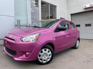 Used 2015 Mitsubishi Mirage ES à hayon 4 portes transmission AUTOMAT for sale in Ste-Agathe-des-Monts, QC