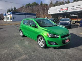 Used 2015 Chevrolet Sonic LT Auto for sale in Greater Sudbury, ON