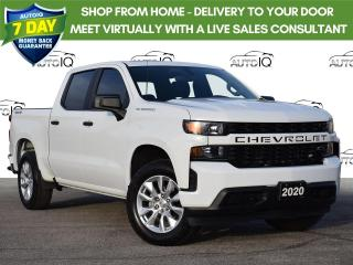 Used 2020 Chevrolet Silverado 1500 Silverado Custom Fresh Trade for sale in Tillsonburg, ON