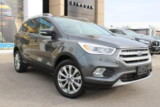 Used 2017 Ford Escape Titanium PRE-OWNED, CERTIFIED, ONE OWNER, NO ACCIDENTS! TITANIUM! NAVIGATION AWD ONLY 22000KMS!! for sale in Hamilton, ON