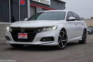 Used 2018 Honda Accord Sport HOLIDAY SPECIAL! LOADED! ADAPTIVE CRUISE LANE KEEP ASST + for sale in Chatham, ON