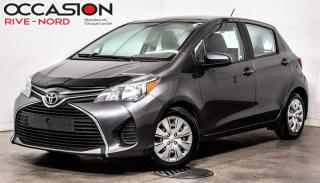 Used 2015 Toyota Yaris LE BLUETOOTH+A/C+GR.ELECTRIQUE for sale in Boisbriand, QC