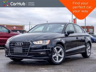 Used 2016 Audi A3 2.0T Komfort Quattro Sunroof Bluetooth Heated Front Seats Leather 17