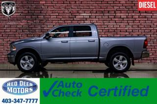 Used 2019 RAM 1500 Classic 4x4 Crew Cab SLT EcoDiesel BCam for sale in Red Deer, AB