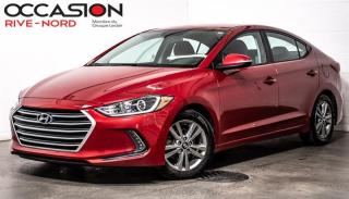 Used 2018 Hyundai Elantra GL MAGS+BLUETOOTH+SIEGES.CHAUFFANTS for sale in Boisbriand, QC