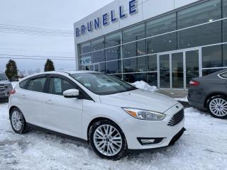 Used 2015 Ford Focus Titanium CUIR GPS TOIT for sale in St-Eustache, QC
