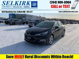 Used 2016 Chevrolet Cruze Premier  - Leather Seats for sale in Selkirk, MB