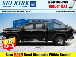 New 2020 Chevrolet Silverado 2500 HD for sale in Selkirk, MB