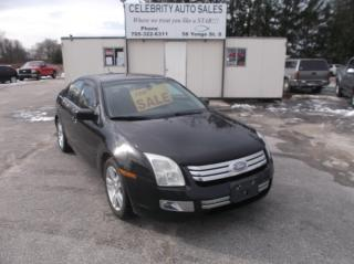 Used 2009 Ford Fusion SEL for sale in Elmvale, ON