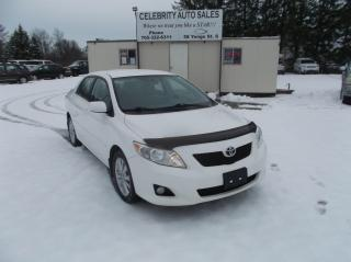 Used 2010 Toyota Corolla LE for sale in Elmvale, ON