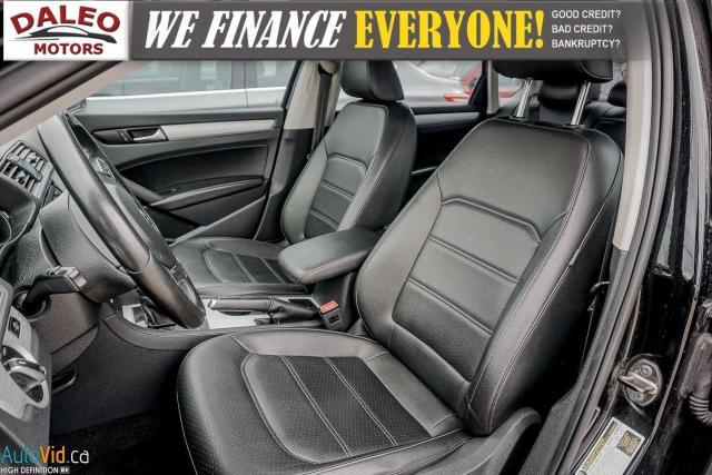 2013 Volkswagen Passat Comfortline / DIESEL / LEATHER / POWER MOONROOF / Photo11