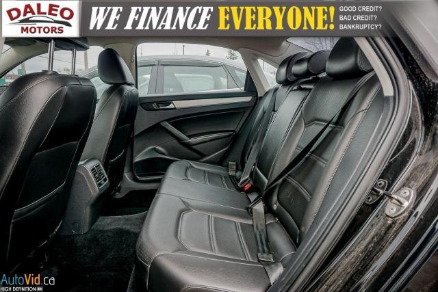 2013 Volkswagen Passat Comfortline / DIESEL / LEATHER / POWER MOONROOF / Photo12