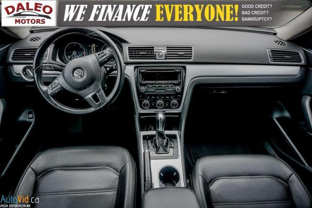 2013 Volkswagen Passat Comfortline / DIESEL / LEATHER / POWER MOONROOF / Photo13