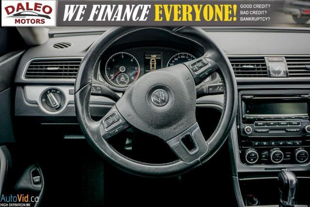 2013 Volkswagen Passat Comfortline / DIESEL / LEATHER / POWER MOONROOF / Photo14