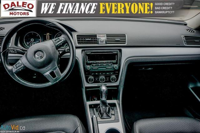2013 Volkswagen Passat Comfortline / DIESEL / LEATHER / POWER MOONROOF / Photo15