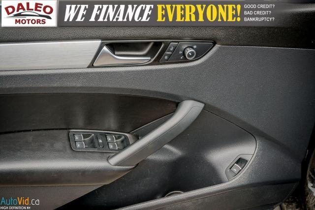 2013 Volkswagen Passat Comfortline / DIESEL / LEATHER / POWER MOONROOF / Photo16