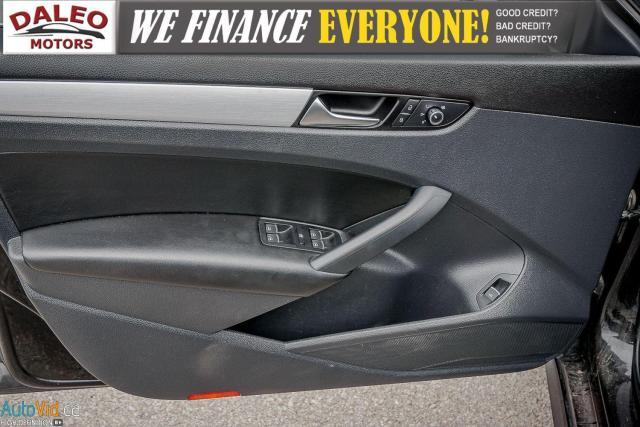 2013 Volkswagen Passat Comfortline / DIESEL / LEATHER / POWER MOONROOF / Photo17