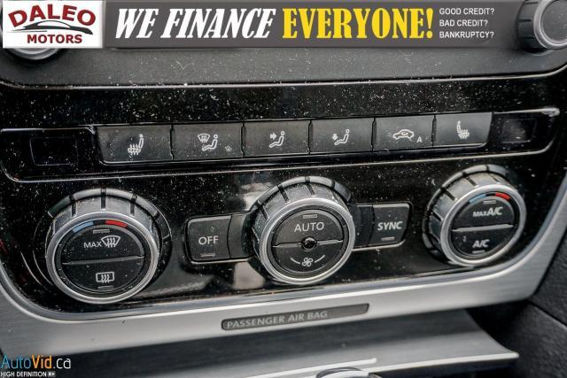 2013 Volkswagen Passat Comfortline / DIESEL / LEATHER / POWER MOONROOF / Photo19