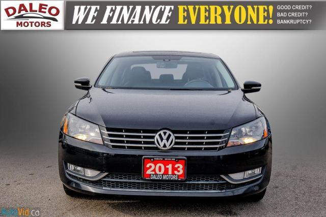 2013 Volkswagen Passat Comfortline / DIESEL / LEATHER / POWER MOONROOF / Photo3