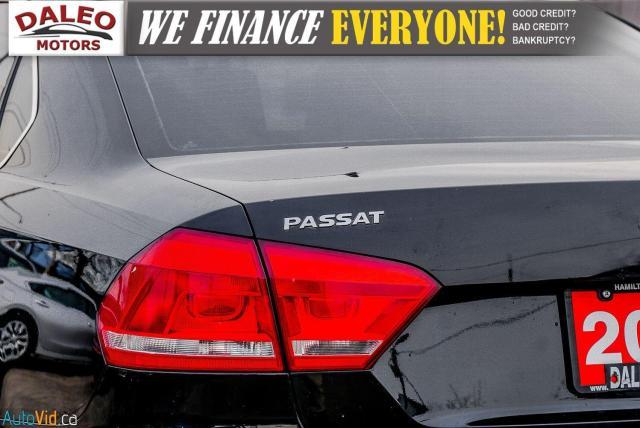 2013 Volkswagen Passat Comfortline / DIESEL / LEATHER / POWER MOONROOF / Photo10