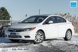 Used 2012 Honda Civic |Clean carfax|Manual|Sunroof| for sale in Bolton, ON