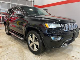 Used 2017 Jeep Grand Cherokee Overland for sale in Red Deer, AB