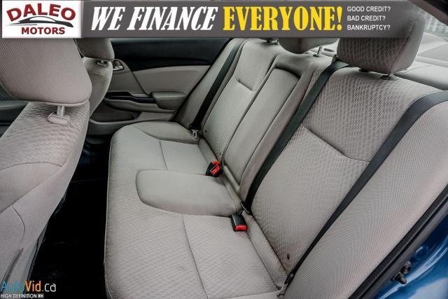 2014 Honda Civic LX / BUCKET SEATS / HEATED SEATS / CLEAN Photo12