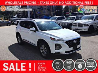 Used 2019 Hyundai Santa Fe Essential AWD w/Safety Pkg - Accident Free / Local / One Owner for sale in Richmond, BC