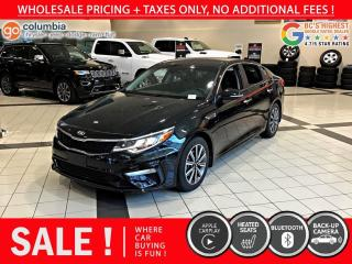 Used 2019 Kia Optima LX+ - Accident Free / Local / One Owner for sale in Richmond, BC