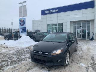 Used 2012 Ford Focus TITANIUM/HATCH/LEATHER/NAV/BACKUP/SUNROOF for sale in Edmonton, AB