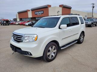 Used 2015 Honda Pilot Touring 4dr 4WD Sport Utility for sale in Steinbach, MB