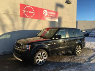 Used 2013 Land Rover Range Rover Sport SC / SUPERCHARGED for sale in Edmonton, AB