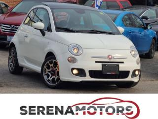Used 2013 Fiat 500 SPORT | AUTO | PANOROOF | ONE ONWER | NO ACCIDENT for sale in Mississauga, ON