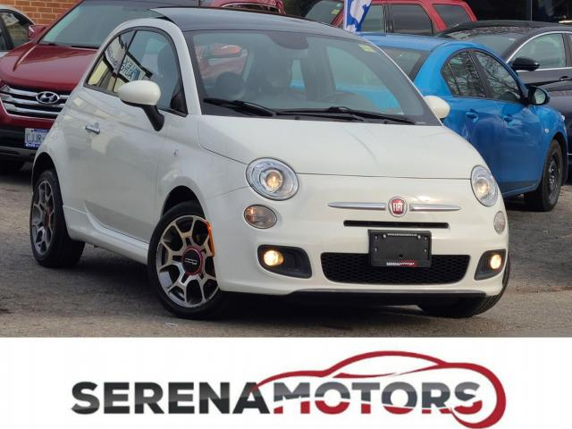 2013 Fiat 500 SPORT | AUTO | PANOROOF | ONE ONWER | NO ACCIDENT