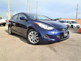 Used 2013 Hyundai Elantra Auto new brakes GL LOW KM NO ACCIDENT ONE OWNER SA for sale in Oakville, ON