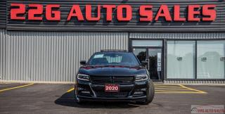 Used 2020 Dodge Charger SXT PLUS|AWD|ACCIDENT FREE|BACKUP CAM|LEATHER|NAV| for sale in Brampton, ON