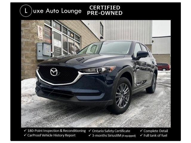 2017 Mazda CX-5 GS AWD, COMFORT PKG, HEATED SEATS, BACK-UP CAMERA!