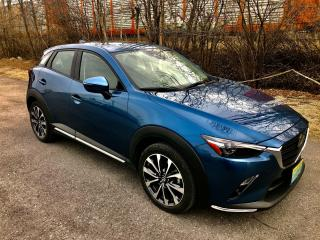 Used 2019 Mazda CX-3 GT with only  30100 km $97.00 Weekly for sale in Perth, ON