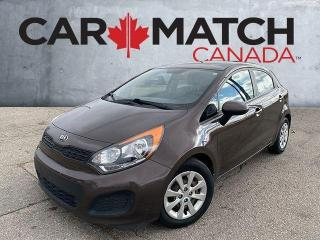 Used 2014 Kia Rio 5 LX+ / AC / NO ACCIDENTS for sale in Cambridge, ON