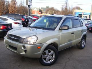 Used 2007 Hyundai Tucson GL w/Air Pkg,A/C,KEY LESS, ALLOYS,CERTIFIED for sale in Kitchener, ON