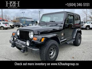 Used 2002 Jeep TJ Sahara for sale in Surrey, BC