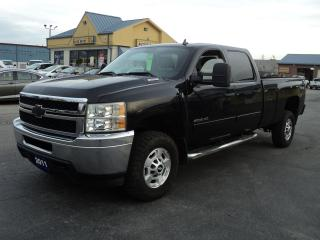 Used 2011 Chevrolet Silverado 2500 LT CrewCab 4X4 6.0L 8ft Box for sale in Brantford, ON