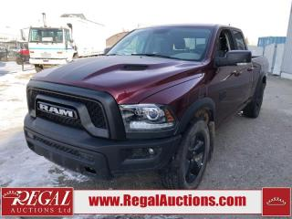 Used 2019 RAM 1500 Classic Warlock QUAD CAB SWB 4WD 3.6L for sale in Calgary, AB