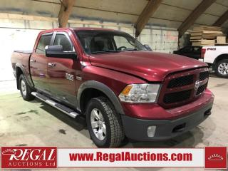 Used 2013 RAM 1500 Outdoorsman 4D CREW CAB 4WD for sale in Calgary, AB