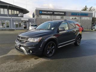 Used 2018 Dodge Journey CROSSROAD - LEATHER NAVIGATION DVD PLAYER for sale in Victoria, BC