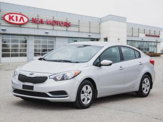 Used 2016 Kia Forte LX for sale in Winnipeg, MB