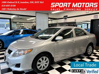 Used 2009 Toyota Corolla LE+Power Options+Power Options+Cruise Control for sale in London, ON