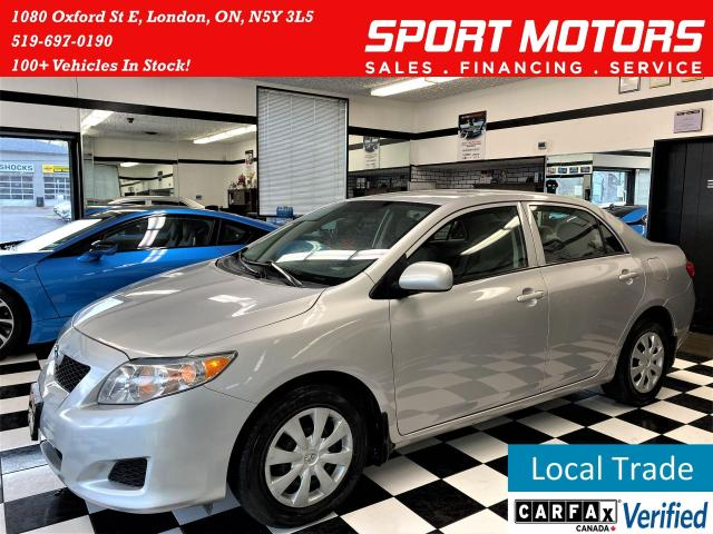 2009 Toyota Corolla LE+Power Options+Power Options+Cruise Control
