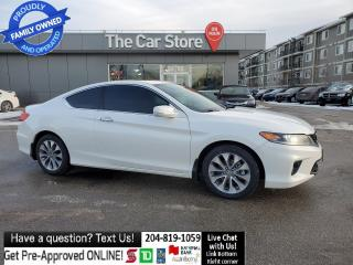 Used 2015 Honda Accord Coupe EX Sunroof Bluetooth Rear Cam 1owner clean title for sale in Winnipeg, MB